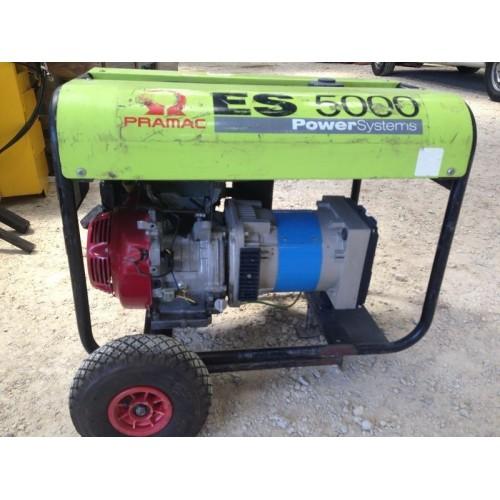 Groupe electrogene 5000 W de marque Pramac ES 5000