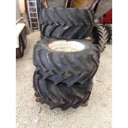 Roues complètes Trelleborg twin 414 -  400/55 - 17.5