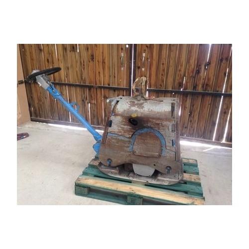 Plaque vibrante WEBER CR6 CC 416kg