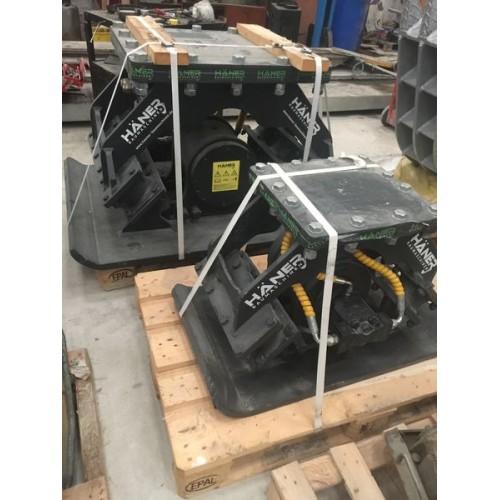 Plaque compactage HANER HPC400 pour pelle 3 - 12 T NEUVE