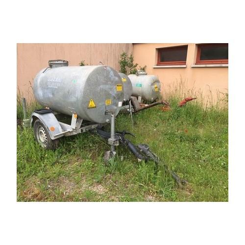 Remorque Citerne HUBIERE CTR131 1000 litres