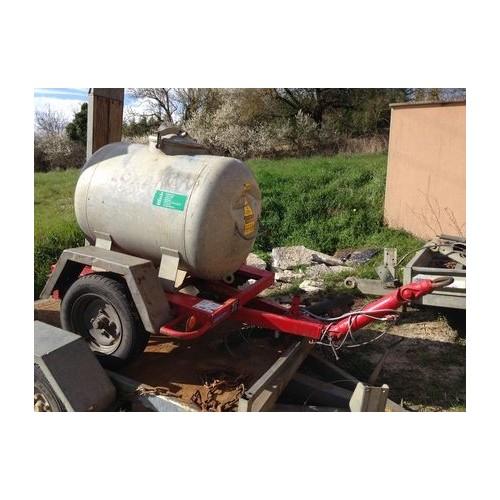 Remorque Citerne 560 litres