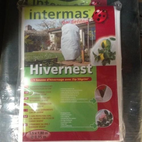 Housse hivernage avec zip Hivernest