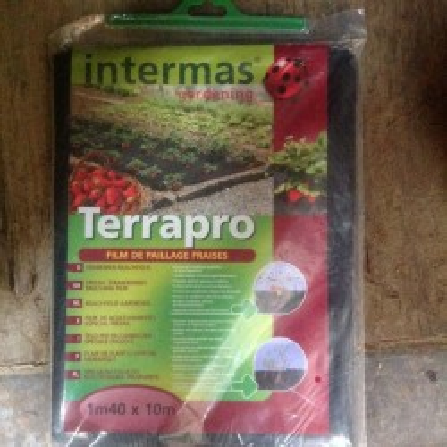 TERRAPRO (film de paillage fraises) - 1,40 x 10 m
