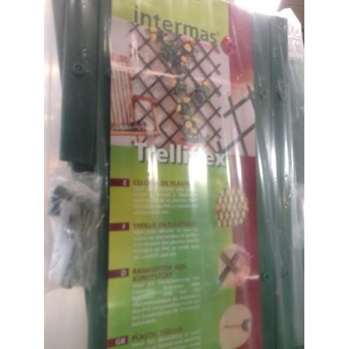 rellis extensible PVC, 1x2m, Vert, TRELLIFLEX